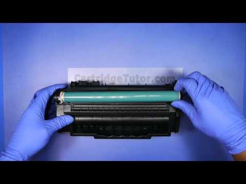 HOW TO REFILL HP Q7553A 53A Toner LaserJet P2014 P2014n P2015 P2015d P2015dn
