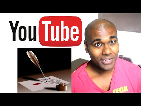 YouTube Video Script Writing - How to Design and Write your own Scripts
