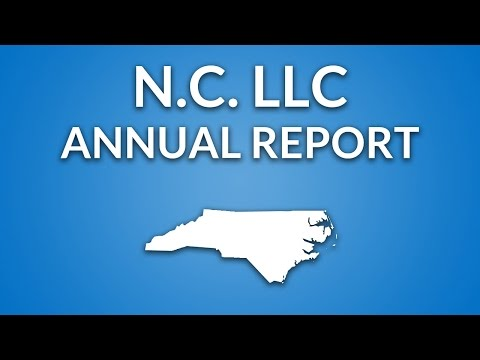 North Carolina LLC - Annual Report