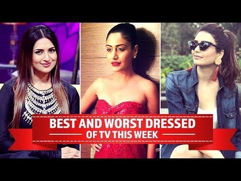 Xxx Mp4 Hina Khan Sargun Mehta Surbhi Chandna TV 39 S Best And Worst Dressed Of The Week Pinkvilla 3gp Sex