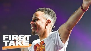 Stephen A. And Max Rank Steph Curry As Top 5 NBA Player | First Take | ESPN