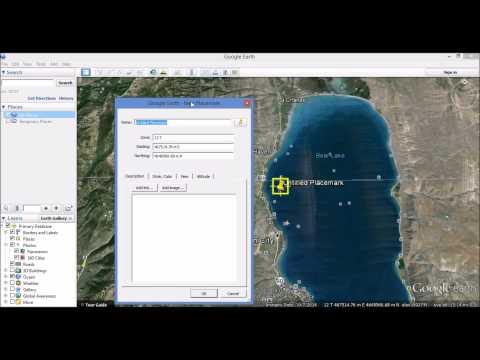 Entering UTM grid coordinates into Google Earth
