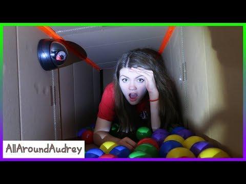Exploring New Secret Hello Neighbor Underground Tunnels! LOST! / AllAroundAudrey