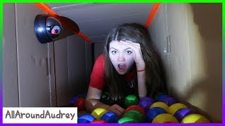 Exploring New Secret Hello Neighbor Underground Tunnels! LOST! / AllAroundAudrey