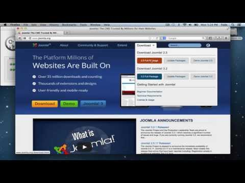 Install Joomla on a Mac - MAMP and Joomla Setup