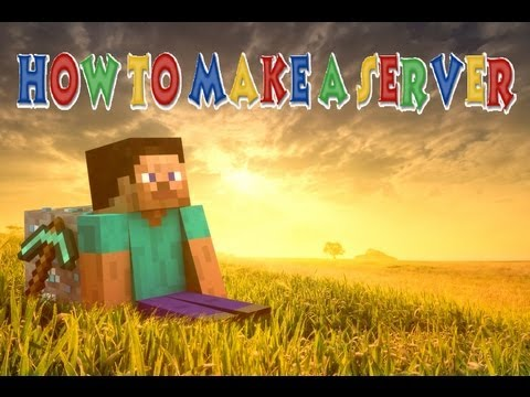 How to Make a Minecraft Server on PC - EASY