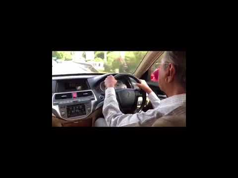 Dr Mahathir Prime Minister Of Malaysia Driving Proton