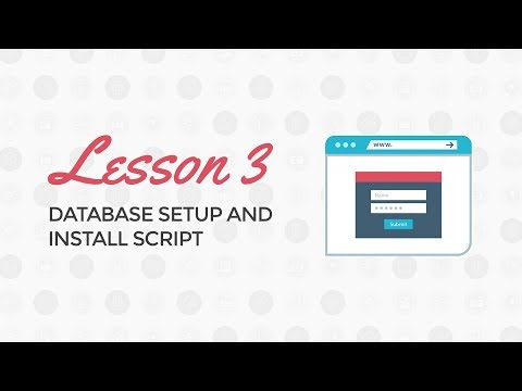 PHP Login and Registration Tutorial: Database Setup and Install Script