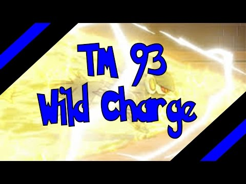 How To Get TM 93 - Wild Charge In Omega Ruby and Alpha Sapphire (Oras)