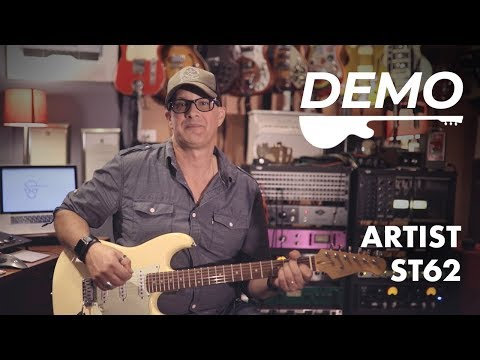Artist ST62 Vintage White Electric Guitar Demo