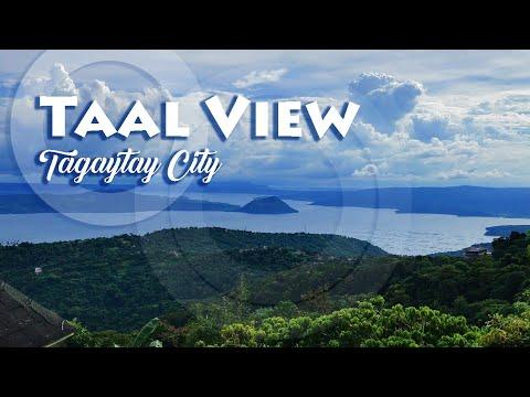 Beautiful Taal View at Picnic Grove Tagaytay