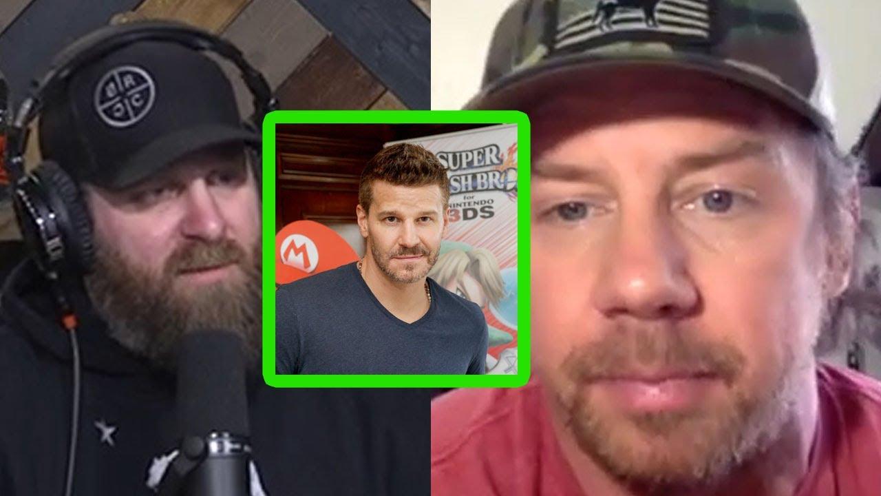 "'SEAL Team' Star Tyler Grey ""David Boreanaz Originally Turned Down His Role"" - Drinkin' Bros clips"