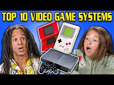 GENERATIONS REACT TO TOP 10 VIDEO GAME SYSTEMS OF ALL TIME