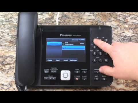 How to Conference Call Using Panasonic KXUTG Phones on Clearsip