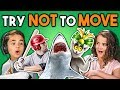 Kids React To Try Not To Move Challenge mp3