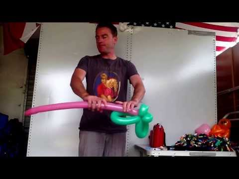 How to make a simple Butterfly Balloon by Twisted Mick