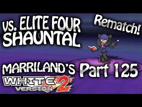 Pokemon White 2, Part 125: Elite Four Shauntal Rematch
