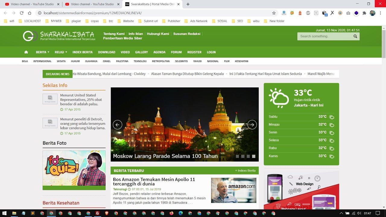 Cara Instalasi dan Upload Project Web ke cPanel Web Hosting