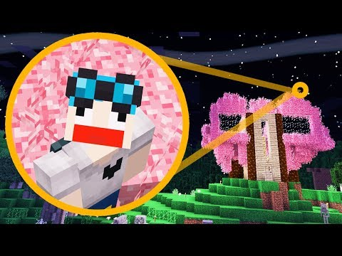 MY PINK MINECRAFT TREEHOUSE!!! [#10]