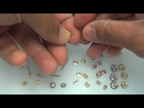 How to choose the right Friction and Screw Earring Backs