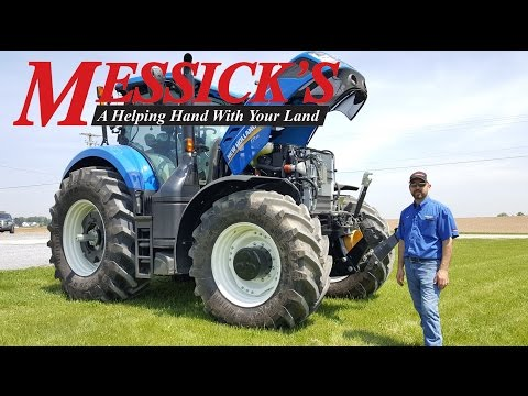 How to Operate a New Holland T7.315 CVT Transmission Tractor | Messick's