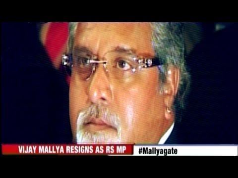 Vijay Mallya Forced to Resign from Rajya Sabha