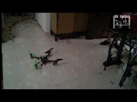 JafarQuad: first successful quadcopter test flight