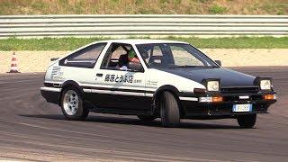 Toyota Ae86 Sprinter Trueno - Drifting, Pure Sound & On Board