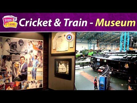 Cricket Museum | Delhi National Rail Museum | Amazing Libro Book,Cook Diva Remba,