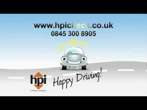 HPI Check National TV Ad - 10 Sec - Jennifer Johnston Scottish Female Voiceover