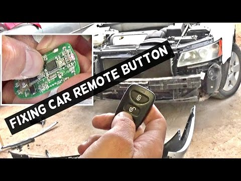 HOW TO FIX NOT WORKING CAR REMOTE CONTROL BUTTON