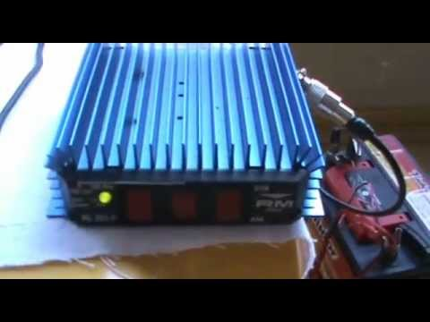 SDR Softrock RXTX working with a signal amplifier RM KL203-P (RX test)