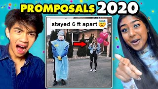 Teen React To 8 Promposals From Quarantine 2020