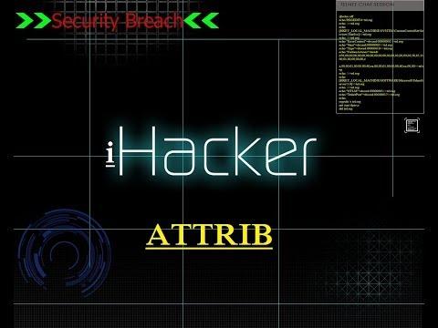 CMD vs ESK ATTRIB Command