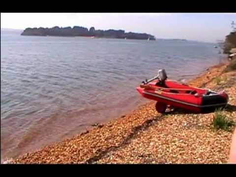 Brownsea Island by Inflatable Boat