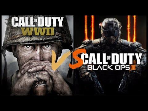 Call Of Duty WW2 VS Black ops 3!