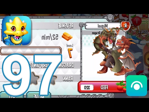 Dragon City - Gameplay Walkthrough Part 97 - Level 43, Middle Earth Dragon (iOS, Android)