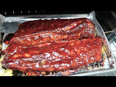 Easy BBQ Babyback Ribs in the Oven -Easy Recipe Eps #23
