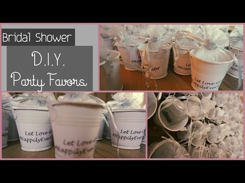 DIY Bridal Shower/Baby Shower Party Favors - Let Love Grow