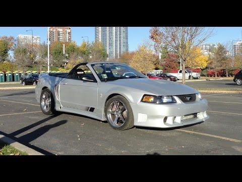 2001 Ford Mustang Saleen Convertible - My Car Story with Lou Costabile