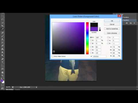 How to Reset the Color in Photoshop : Adobe Photoshop Tips