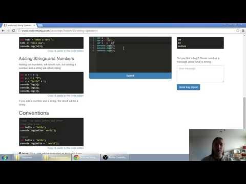 Web developerská škola, časť 17: JavaScript - Operátory reťazcov