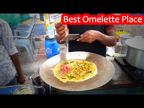 Bhandari Omelette Center | Yummy Egg Dish Recipe |Egg keema how to make| Indian Street Food