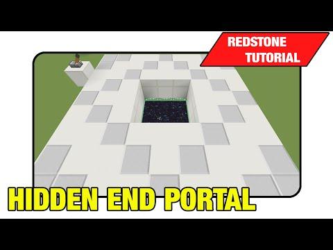 Hidden End Portal [3x3 Trap Door]