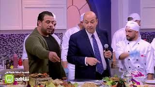 """خالد الصاوي من أمام شواية """"روستو"""": الفراخ دي هتطلعلي في الأحلام"""