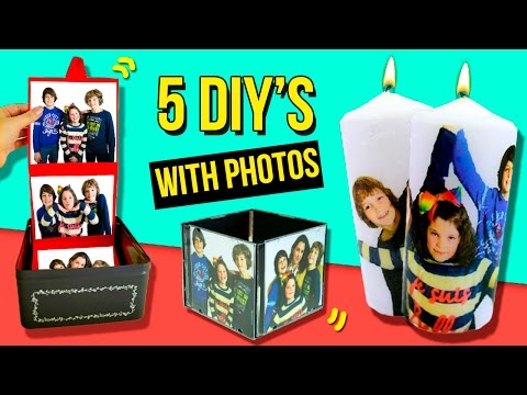 5 DIY Photography GIFTS for VALENTINE'S DAY 🎁  5 last minute GIFT IDEAS 💞