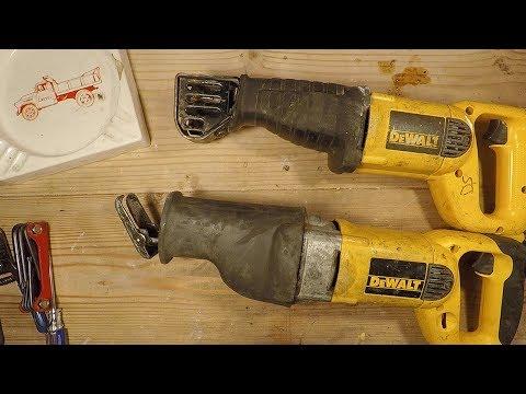 DeWALT Reciprocating Saw Repair