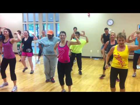 CRAZY LOVE --- Aqua Zumba® Superstars in Novi, MI modify choreo to water fitness