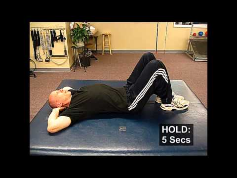 Fall Prevention Exercises (Posture Series) - Chin Tuck Head Press