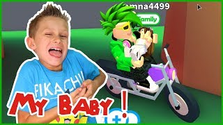 Being a BABY in Roblox!